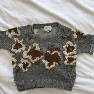 3.1 Phillip Lim textured knit crop top